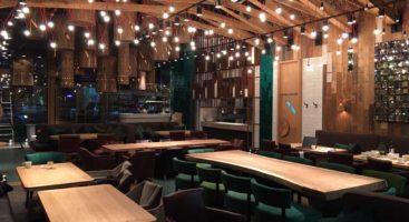 collezioni Tonalite per il redesign del ristorante Dolina Solnza a Mosca
