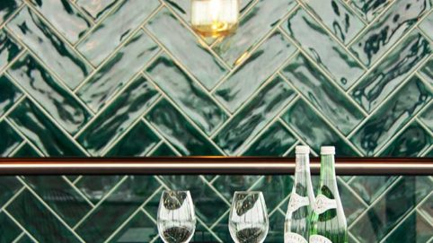 Tonalite tiles at WT Urban Café&Kitchen in Utrecht, Niederlands