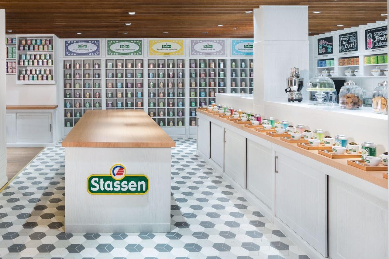 Stassen Tea Shop di Mandressi GmbH con Examatt – Decoro Tredi – Grigio D / TRE.GR